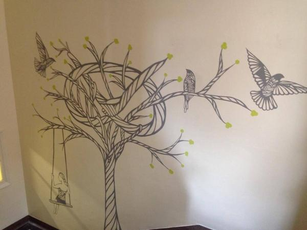 mural clare corfield carr illustration drawing charity art design staffordshire