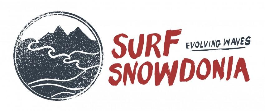 Surf Snowdonia logo north wales outdoor adventure surfing sea surfer uk inland lagoon